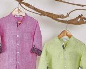 pure linen shirts