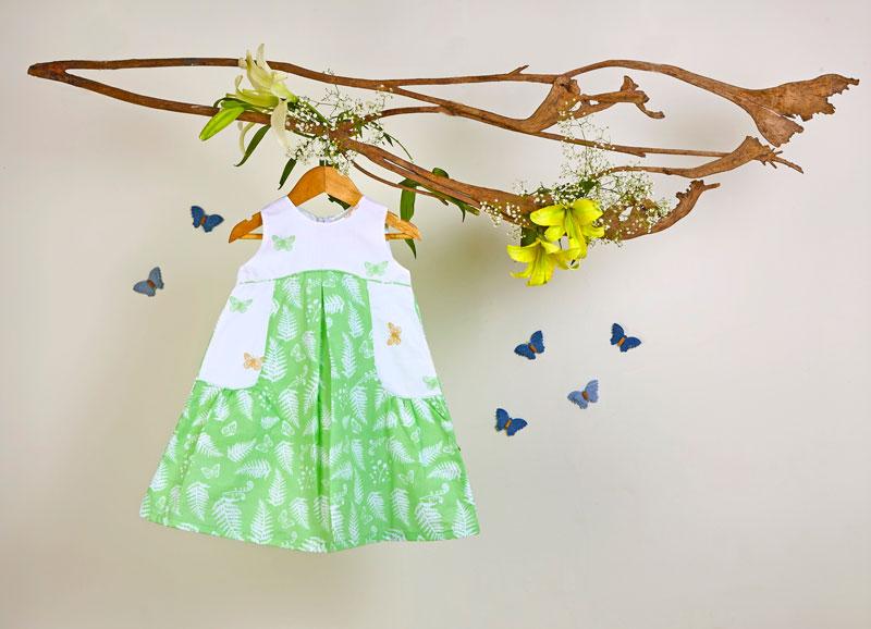Liz Jacob Girls Dress