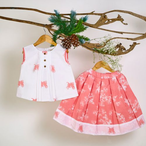 Liz Jacob Girls Skirt Sets