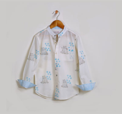 Liz Jacob Polar Bear Shirt
