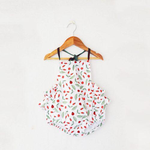 Cotton romper for babies