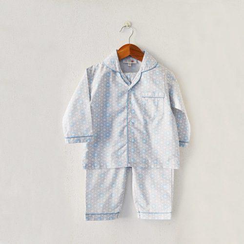 Liz Jacob cotton night pyjama set