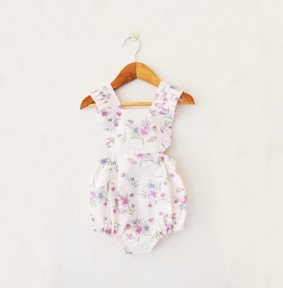 Liz Jacob cotton romper