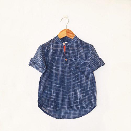 Liz Jacob handloom cotton shirt
