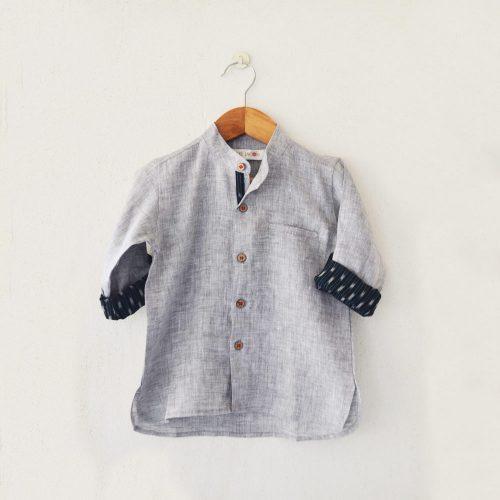 Liz Jacob Linen Shirt
