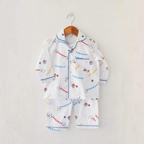 Liz Jacob cotton nightwear pyjama set